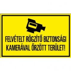 Figyelmeztető PVC tábla 160x100mm