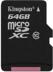 Kingston 64GB / Class10 microSD kártya