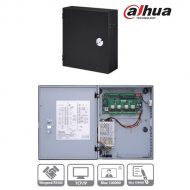 Dahua ASC1202C beléptető rendszer központ, 4 olvasó bemenet (2 ajtó 2 irány), I/O, 1x RJ45, fém dobozban, tápegységgel