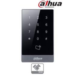 Dahua ASR1101A kártyaolvasó (segédolvasó) és kódzár, Mifare (13,56MHz), RS485, háttérvilágítás