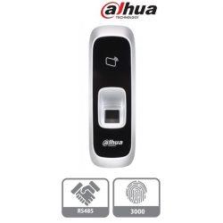 Dahua DHI-ASR1102A(V2) ujjlenyomat és RFID olvasó, Mifare 13,56MHz, RS485, 3000 ujjlenyomat tárolás, 9-15VDC