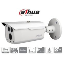 Dahua 4in1 Analóg csőkamera - HAC-HFW1230D (2MP, 3,6mm, kültéri, IR80m, ICR, IP67, DWDR, StarLight)