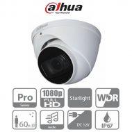 Dahua 4in1 Analóg turretkamera - HAC-HDW2241T-Z-A (2MP, 2,7-13,5mm(motor), kültéri, IR60m, ICR, IP67, WDR, audio)