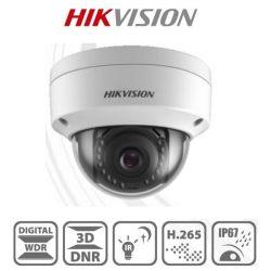 Hikvision IP dómkamera - DS-2CD1143G0-I (4MP, 2,8mm, kültéri, H265+, IP67, IR30m, ICR, DWDR, 3DNR, PoE, műanyag)