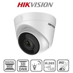 Hikvision IP turretkamera - DS-2CD1343G0-I (4MP, 2,8mm, kültéri, H265+, IP67, IR30m, ICR, DWDR, 3DNR, PoE)