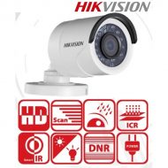 Hikvision 4in1 Analóg csőkamera - DS-2CE16D0T-IRF (2MP, 3,6mm, kültéri, IR20m, D&N(ICR), IP66, DNR)