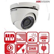Hikvision DS-2CE56D0T-IRMF Turret kamera, kültéri, 2MP,  2,8mm, IR20m, D&N(ICR), IP66, DNR, AHD/CVI/TVI/CVBS