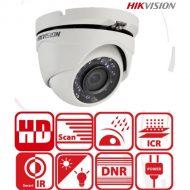Hikvision DS-2CE56D0T-IRMF Turret kamera, kültéri, 2MP,  3,6mm, IR20m, D&N(ICR), IP66, DNR, AHD/CVI/TVI/CVBS