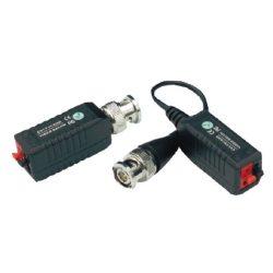 WaliSec WS-UTPHD102AC BNC-UTP(sorkapocs) átalakító/balun, 2db/csomag, max. 4MP AHD/4MP CVI/3MP TVI kamerákhoz
