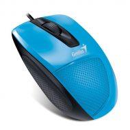 Genius Egér - DX-150X (Vezetékes, 1000 DPI, 3 gomb, USB, kék)