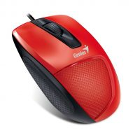 Genius Egér - DX-150X (Vezetékes, 1000 DPI, 3 gomb, USB, piros)