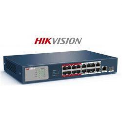 Hikvision Switch PoE - DS-3E0318P-E/M (16 port 100Mbps, 135W, 1 port 1000Mbps combo, L2)