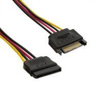 Delock Kábel - 60131 (SATA 15 tűs  -> SATA 15 tűs, apa/anya hosszabbító tápkábel, 0,3m)