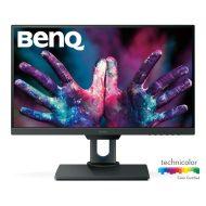 """BenQ monitor 25"""" - PD2500Q (IPS, 16:9, 2560x1440, 100%sRGB/REC709, DP, HDMI, USB) Speaker, HAS, Pivot"""