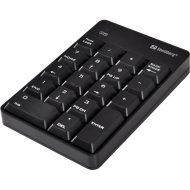 Sandberg Billentyűzet Vezeték Nélküli - Wireless Numeric Keypad 2 (numerikus billentyűzet; fekete)