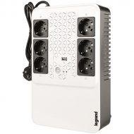 Legrand multimédiás szünetmentes elosztósor 800VA - KEOR-MS (4+2)x Schuko kimenet, USB, vonali interaktív